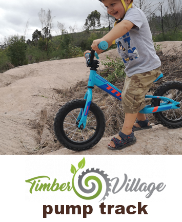 Timber Village pump track
